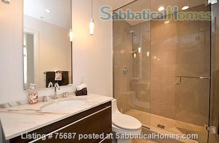 Resort living in the city, Contemporary 1 Bedroom & Den with views of Victoria Inner Harbour                                                          Home Rental in Victoria, British Columbia, Canada 4